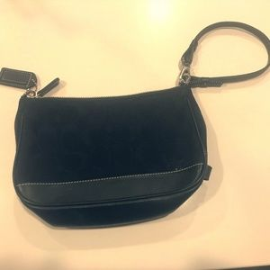 Coach signature wristlet purse